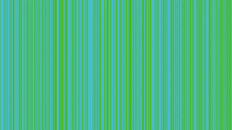 Looping-animation-of-green-and-aqua-vertical-lines-oscillating