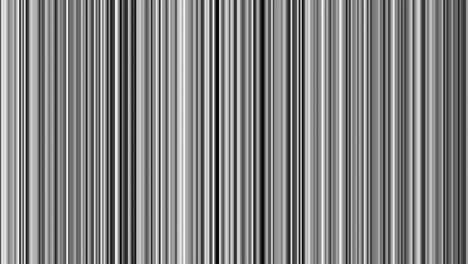 Looping-animation-of-black-gray-and-white-vertical-lines-oscillating