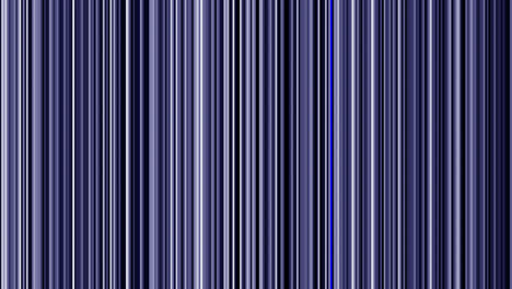 Looping-animation-of-black-white-and-blue-vertical-lines-oscillating