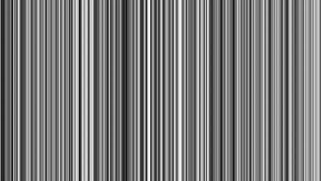 Looping-animation-of-black-white-and-gray-vertical-lines-oscillating