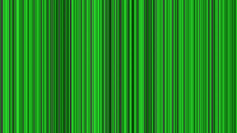 Looping-animation-of-black-gray-and-green-vertical-lines-oscillating