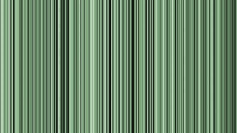Looping-animation-of-black-gray-white-and-green-vertical-lines-oscillating