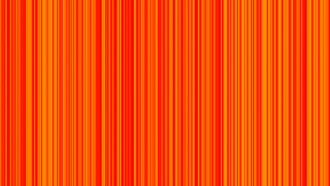 Looping-animation-of-orange-and-yellow-vertical-lines-oscillating
