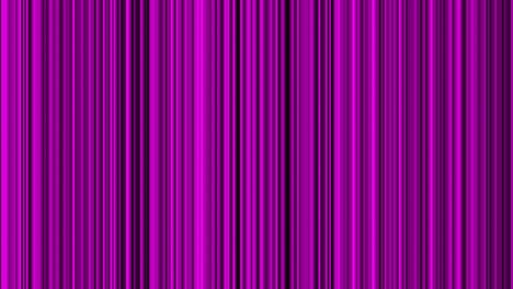 Looping-animation-of-purple-and-black-vertical-lines-oscillating