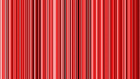Looping-animation-of-black-red-and-white-vertical-lines-oscillating