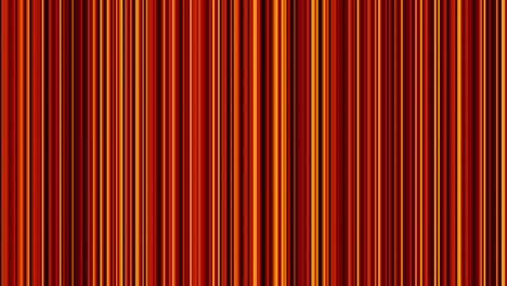 Looping-animation-of-black-red-and-yellow-vertical-lines-oscillating