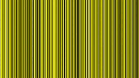 Looping-animation-of-yellow-and-black-vertical-lines-oscillating