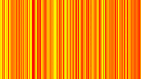 Looping-animation-of-orange-and-yellow-vertical-lines-oscillating-1