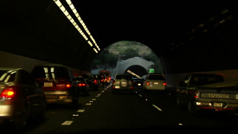 POV-shot-driving-through-the-tunnels-on-the-Pasadena-Freeway-in-Los-Angeles