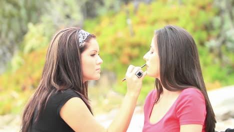 A-makeup-artist-prepares-a-model-2