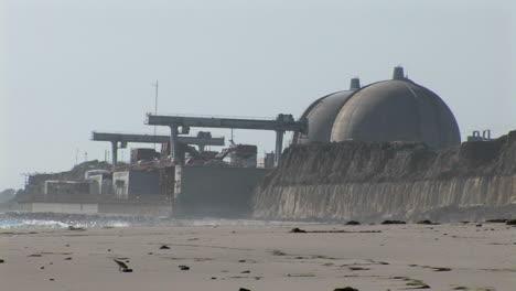 Eröffnungsaufnahme-Des-Atomkraftwerks-San-Onofre-In-Der-Nähe-Von-San-Diego-Kalifornien