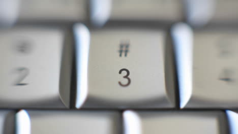 The-number-3-is-on-a-computer-keyboard