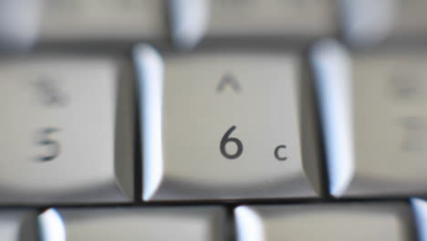 The-number-6-is-on-a-computer-keyboard