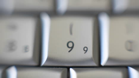 The-number-9-is-on-a-computer-keyboard