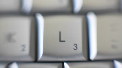 The-letter-L-is-on-a-computer-keyboard