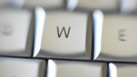 The-letter-W-is-on-a-computer-keyboard