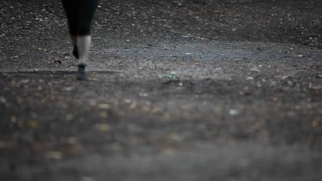 A-woman-seen-jogging-from-below-the-waist