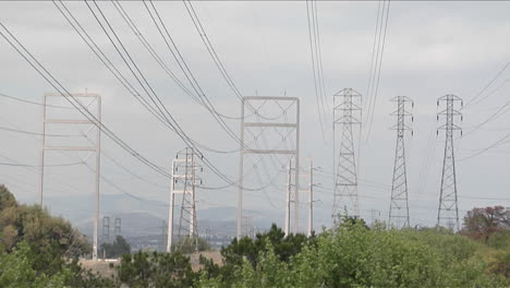 Power-lines-stretch-from-tower-to-tower