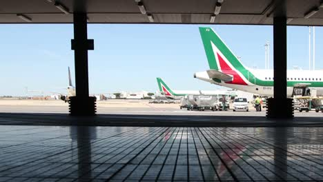 Rome-Airport-Outside