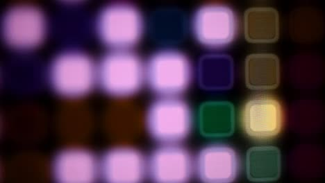Blurred-colored-light-sequencer