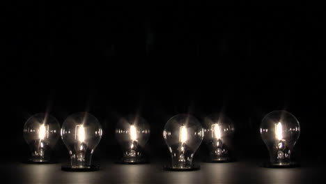 Light-bulbs-dim-and-shut-off