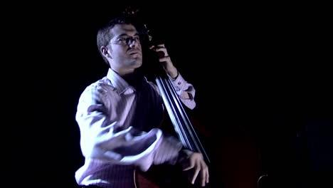 A-man-plays-the-bass-fiddle-1