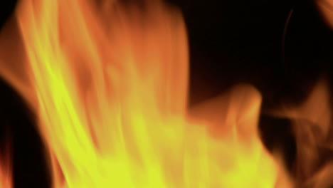 Flickering-orange-flames-burn-in-a-blazing-fire-1