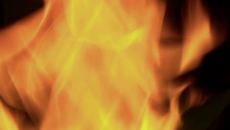 Flickering-orange-flames-burn-in-a-blazing-fire-5