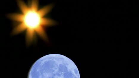 The-sun-and-the-earth-move-across-the-sky