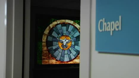 A-stained-glass-window-beautifies-a-hospital-chapel