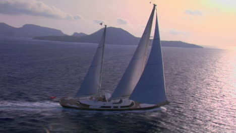 An-aerial-over-a-magnificent-sailing-boat-on-the-open-sea