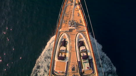 A-view-straight-down-from-the-crows-nest-of-a-sailing-ship-to-the-fore-deck-below
