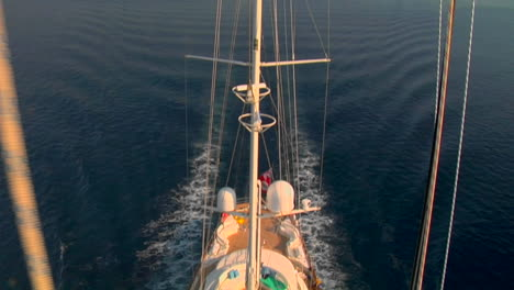 A-view-straight-down-from-the-crows-nest-of-a-sailing-ship-to-the-fore-deck-below-1