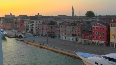 Beautiful-Arial-view-of-Venice-Italy