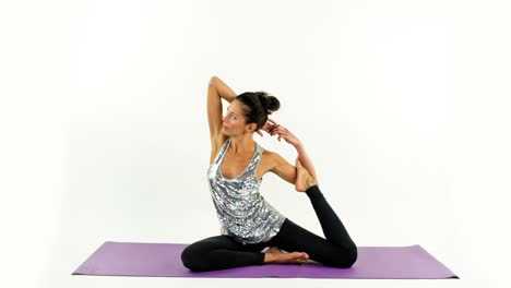 Woman-Doing-Yoga-Studio-22