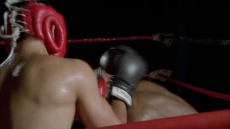 Two-men-have-a-boxing-match