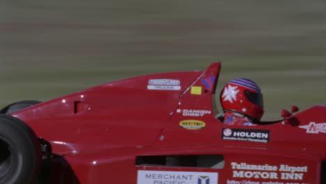 A-formula-car-drives-on-a-circuit-track