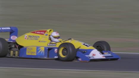 A-race-car-speeds-around-the-track