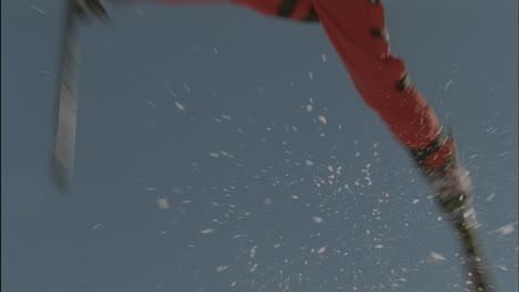 A-skier-makes-a-jump-in-the-air