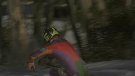 Alpine-skier-running-a-downhill-course-9