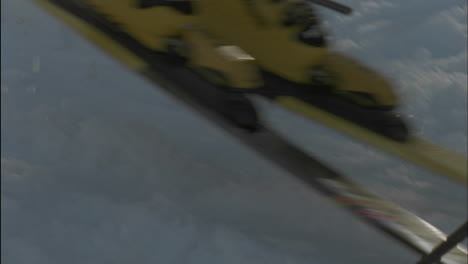A-skier-takes-off-from-a-starting-line