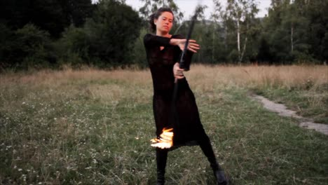 Woman-Dancing-with-Fire-22