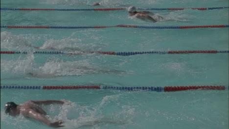 Los-Nadadores-Corren-A-Través-De-Una-Piscina-2-Los-Nadadores-Corren-A-Través-De-Una-Piscina-2