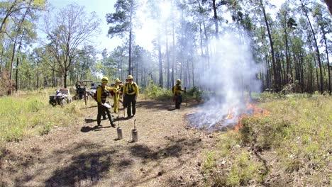 Fire-crew-starting-a-test-fire-for-a-prescribed-burn-near-Baxley-Georgia