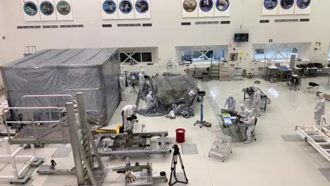 Scientists-at-NASA-Jet-Propulsion-Laboratory-JPL-work-in-controlled-lab-conditions-to-build-and-test-the-Mars-Rover-6
