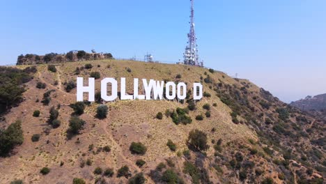 Good-Aerial-Of-The-Hollywood-Sign-In-The-Hollywood-Hills-Los-Angeles-California-Suggests-Film-Industry