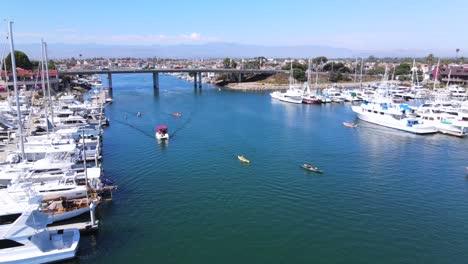 Aumento-De-La-Antena-Del-Puerto-De-Oxnard-Con-Barcos-Yates-Y-Marina-California-2