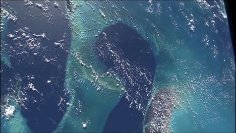 Shots-Of-The-Earth-From-Space-Featuring-The-Blue-Of-Oceans-And-Water