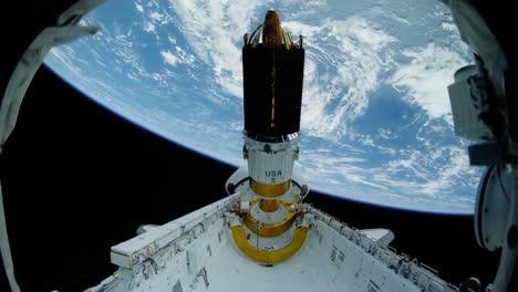 Un-Satélite-Se-Pone-En-órbita