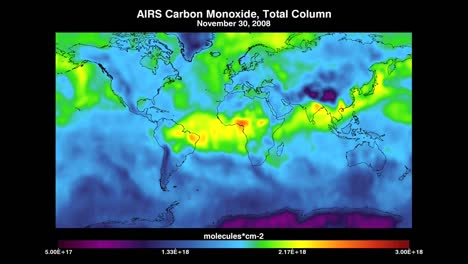 Nasa-Map-Indicates-Levels-Of-Carbon-Monoxide-In-The-Atmosphere